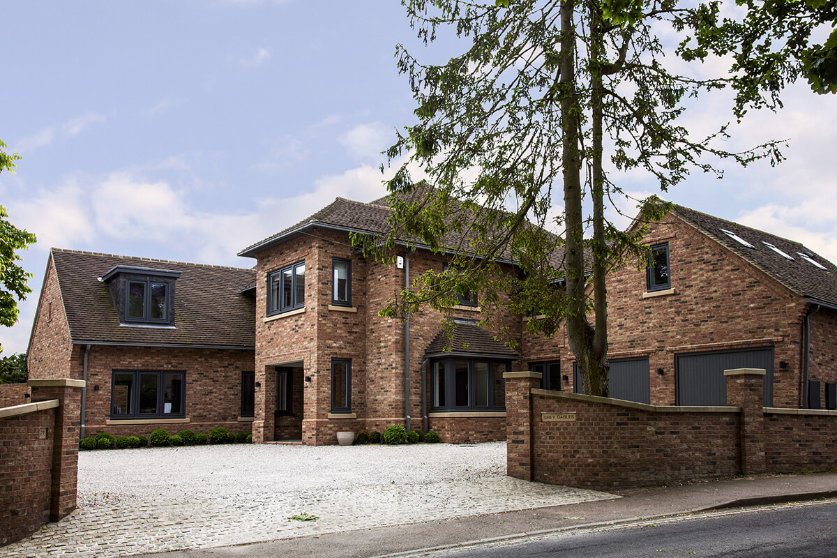 EB Architecture completed project on Rothamsted Avenue