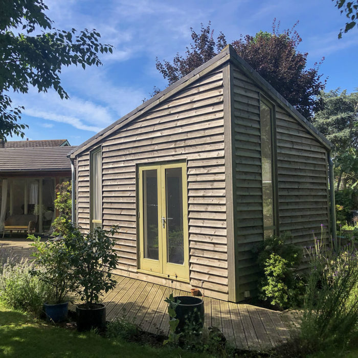 Whitfield Cottage EB Architecture Timber Clad